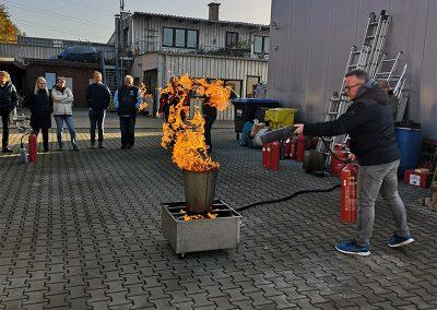Seminar Brandbekämpfung - Kratz & Kusen